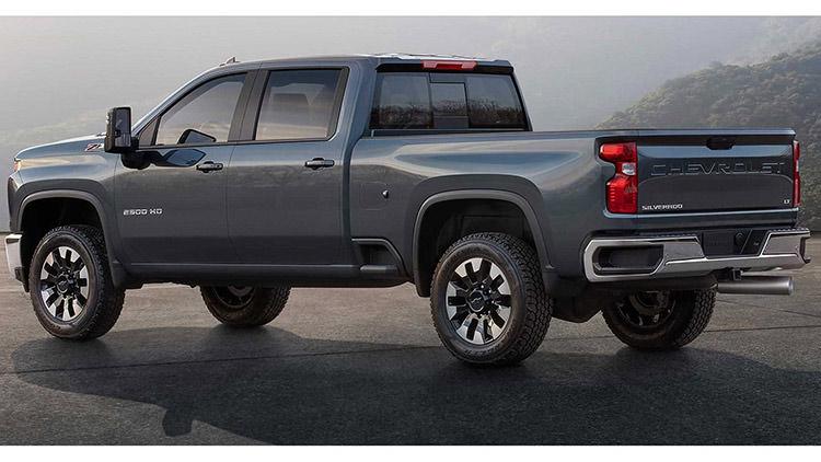 2020 Chevrolet Silverado HD / وانت پیکاپ شورولت سیلورادو HD مدل 2020