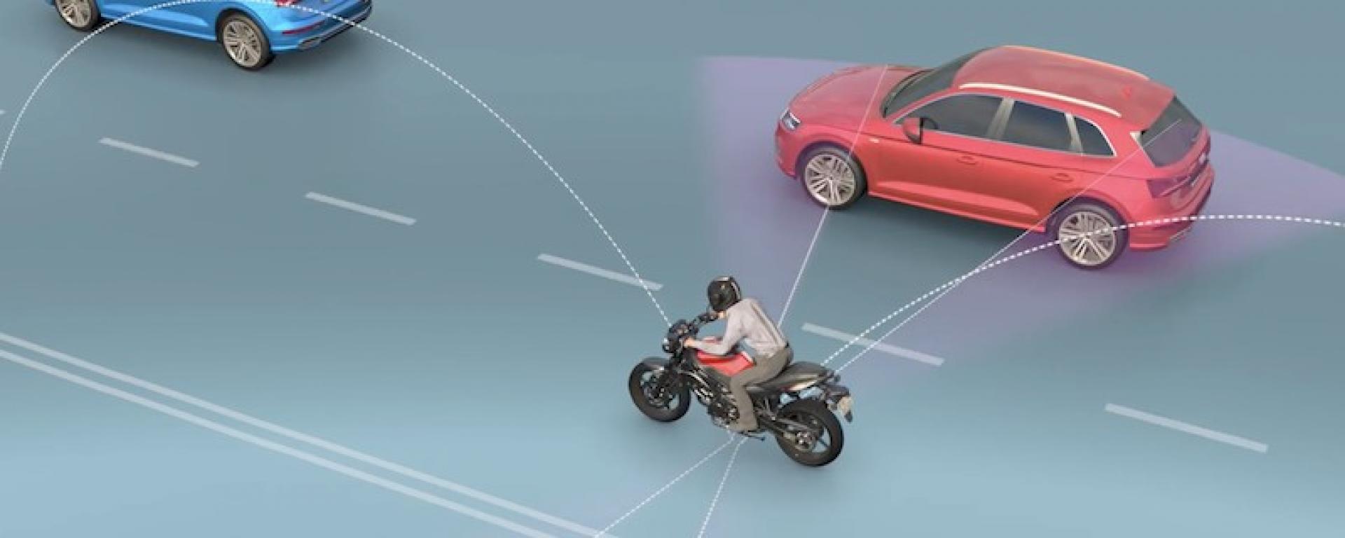 موتورسواری امن با کمک دید ۳۶۰ درجه