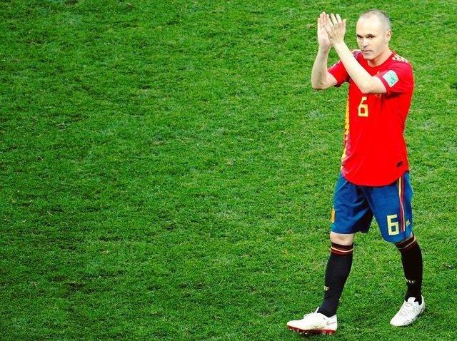 خداحافظی تلخ آندرس اینیستا از تیم ملی اسپانیا