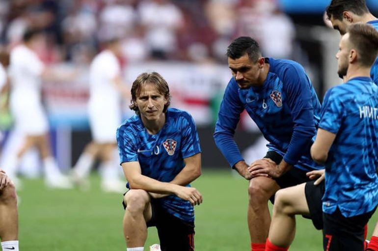حواشی آخرین بازی دوتیم کرواسی و انگلیس