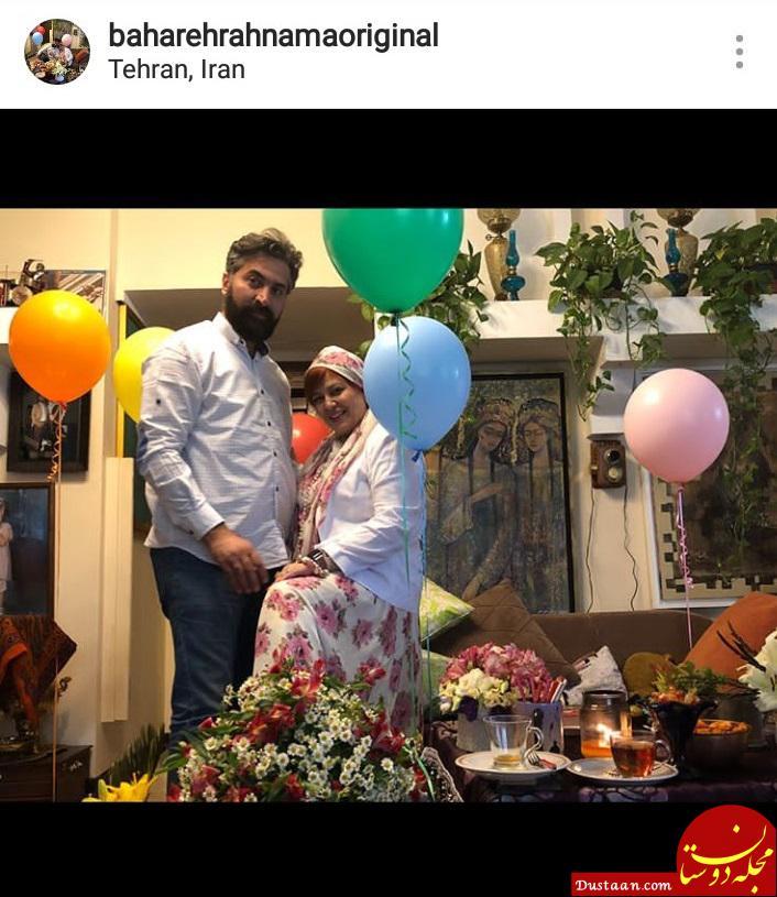 جشن لاکچری بهاره رهنما و همسرش