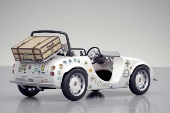 رونمایی از خودروی الکتریکی کودکان توسط تویوتا +تصاویر