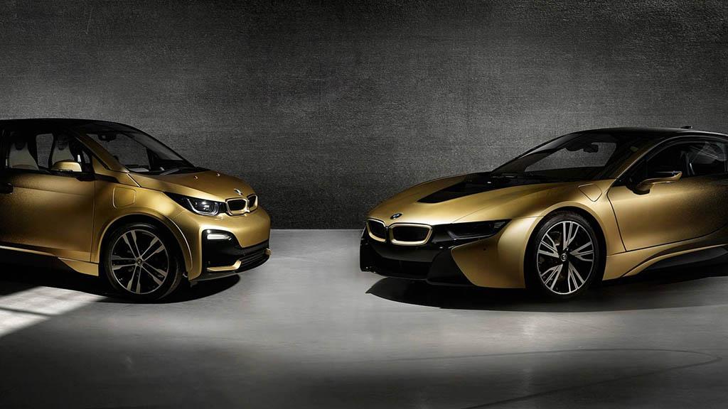 نسخه طلایی BMW i3 و BMW i8 استارلایت ادیشن +تصاویر