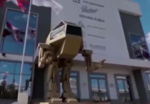 شرکت اسلحه سازی کلاشنیکف از ربات طلایی قاتل خود رونمایی کرد