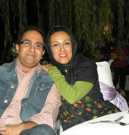 پانته آ بهرام و همسر سابقش