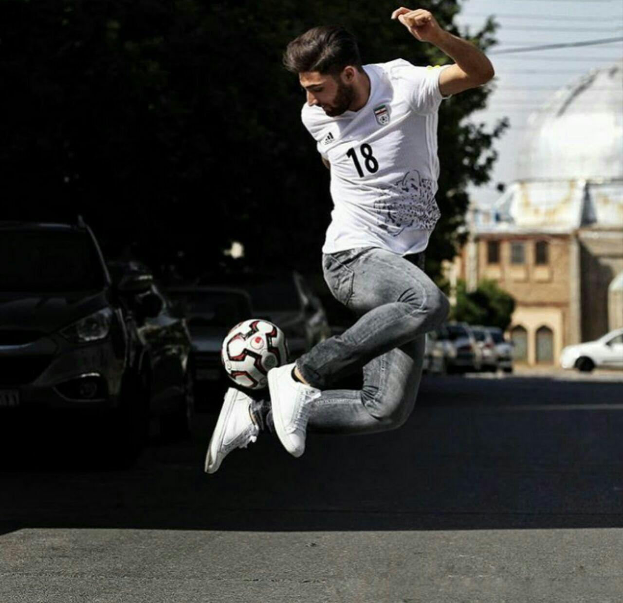 علیرضا جهانبخش و فوتبال خیابانی