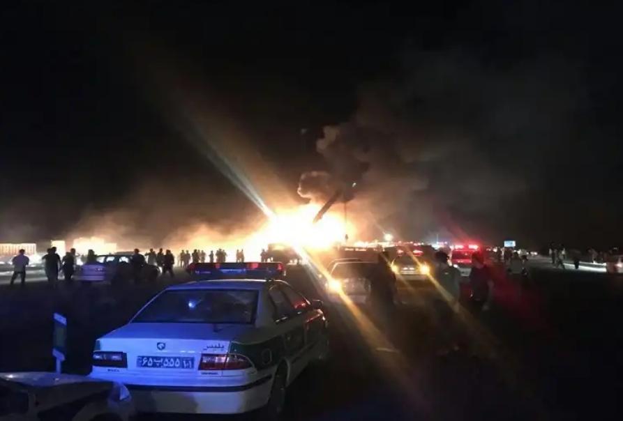حادثه مرگبار در محور کاشان- نطنز