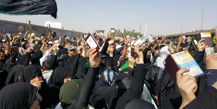خروج یک میلیون و ۶۰۰ هزار زائر اربعین حسینی برای شرکت در پیادهروی اربعین