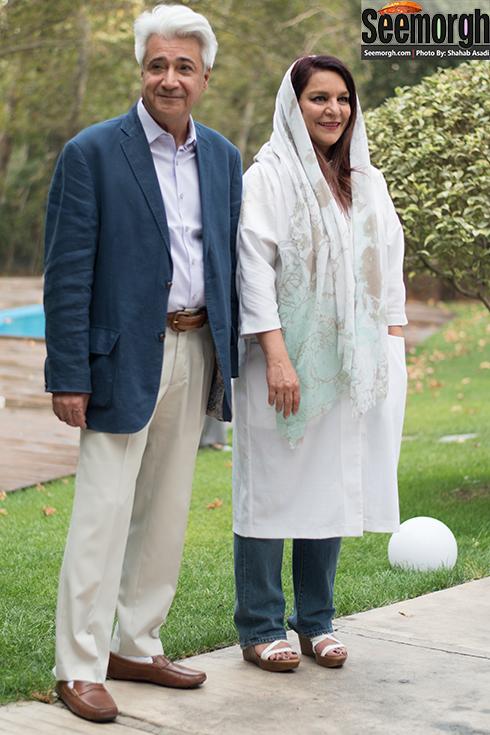 تهمینه میلانی و همسرش