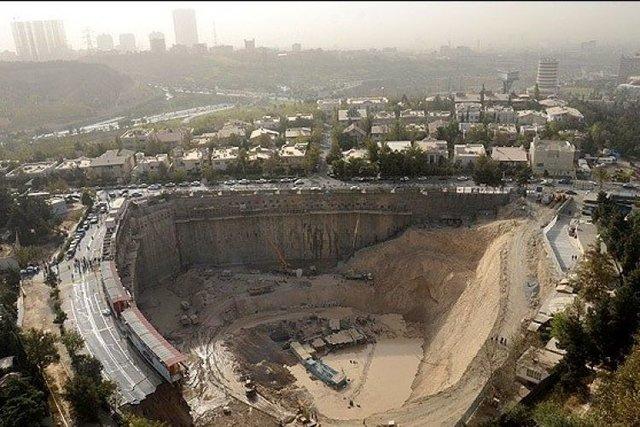 توضیحات نیروی انتظامی درباره گود رها شده در کنار برج میلاد