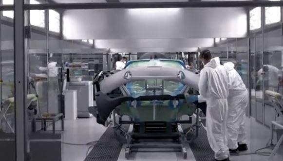 نمایی از تولید مکلارن ۷۲۰S؛ سوپر اسپرت برتر انگلیسی