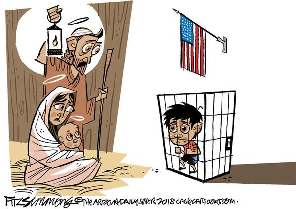 کریسمس در کاخ سفید+کاریکاتور