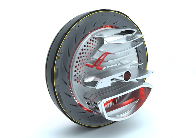 Hankook concept tire / لاستیک تایر مفهومی هنکوک