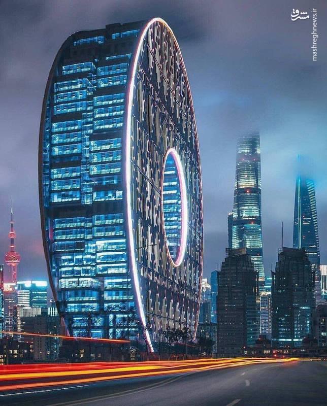 عکس/ معماری حرفه ای و عجیب چینی ها!
