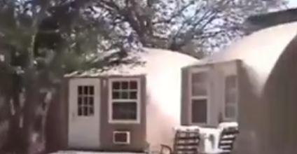 خانه های بادی مناسب در شرایط اضطراری