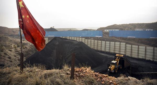 مبحوس شدن کارگران معدن در چین