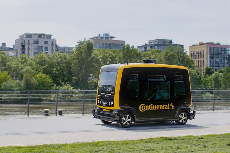 Continental Autonomous car / خودرو خودران کنتیننتال