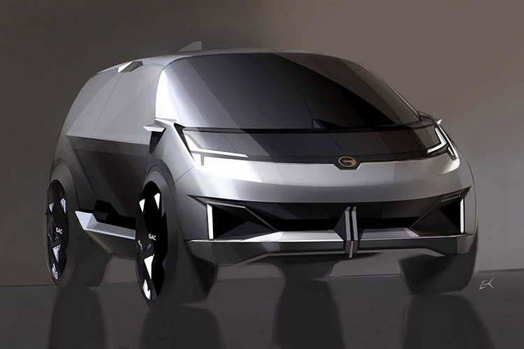 GAC Entranze Concept / خودروی مفهومی خودران