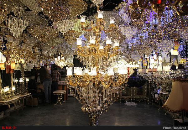 صادرات 200 میلیون دلاری لوستر و چراغهای تزئینی/ ایران جزو پنج کشور تولیدکننده لوستر در دنیا
