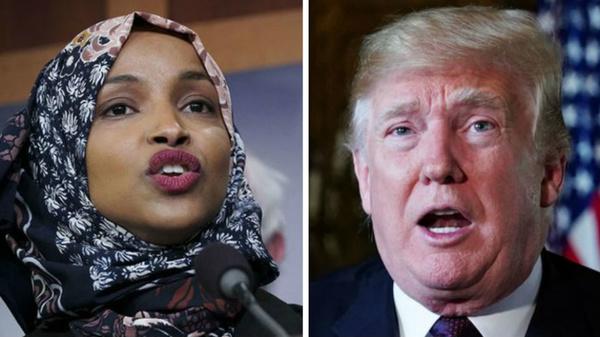 درخواست ترامپ برای استعفای نماینده مسلمان آمریکا