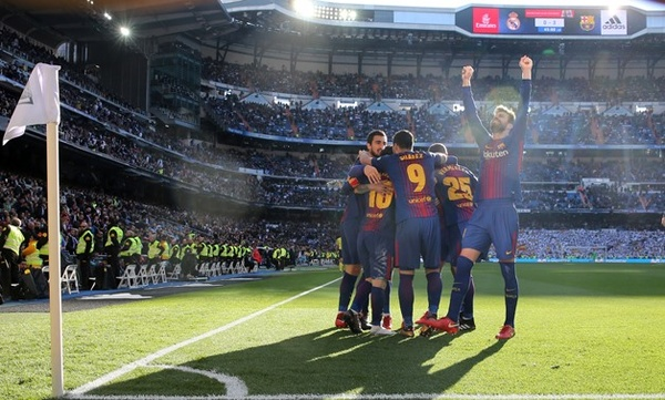یک کری واقعی؛ برنابئو زمین میزبانی بارسلونا