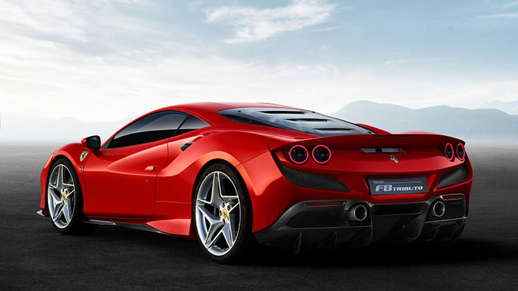 Ferrari F8 Tributo / فراری F8 تریبیوتو