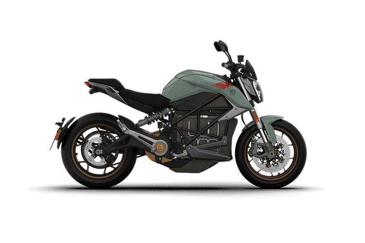 Zero SR/F electric motorcycle / موتورسیکلت برقی زیرو