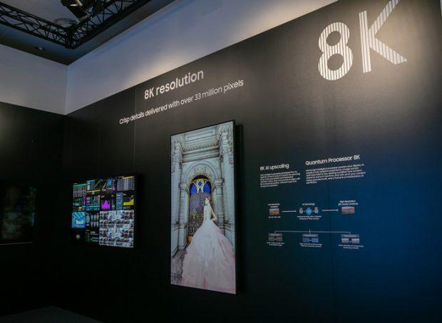 نمایشگرهای تجاری 8K سامسونگ