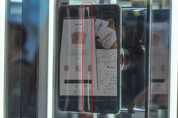 نمایشگر گوشی منعطف سامسونگ یک ایراد بزرگ دارد!