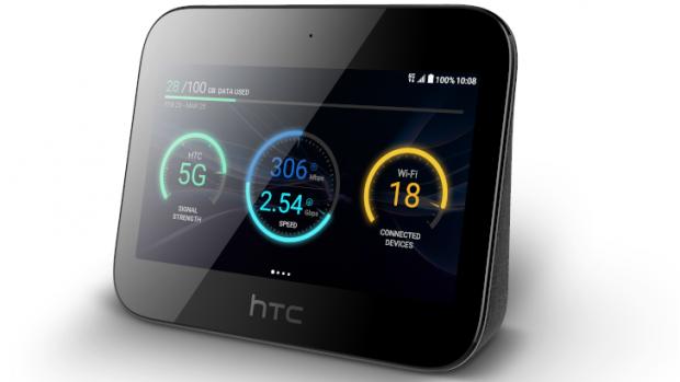 هاب 5G اچ تی سی دسترسی به اینترنت 5G را برای ۲۰ دیوایس به طور همزمان فراهم می کند