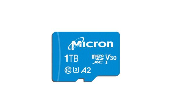 سن دیسک و میکرون اولین کارت حافظه میکرو اس دی یک ترابایتی جهان را معرفی کردند