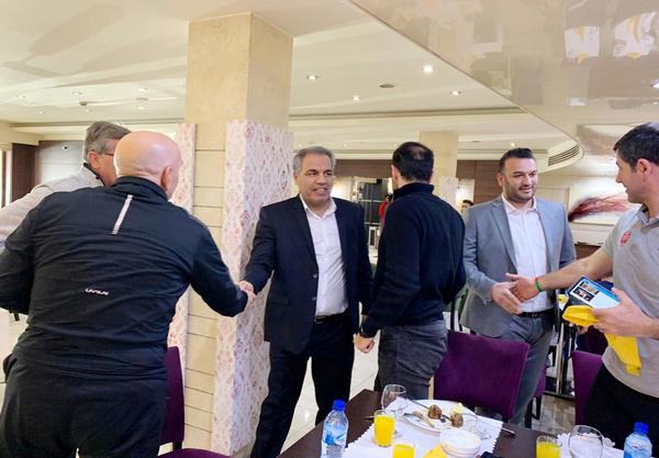 دیدار عرب با پرسپولیسی ها با در هتل اوین