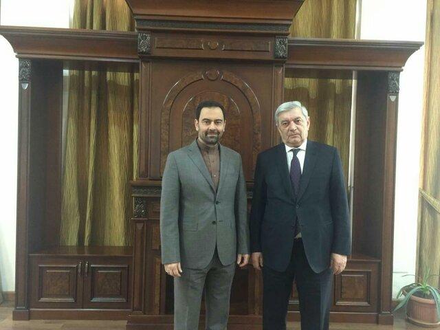 دیدار سفیر ایران با وزیر موقعیت های اضطراری ارمنستان