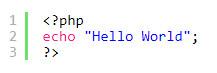 نمایش کد در وردپرس