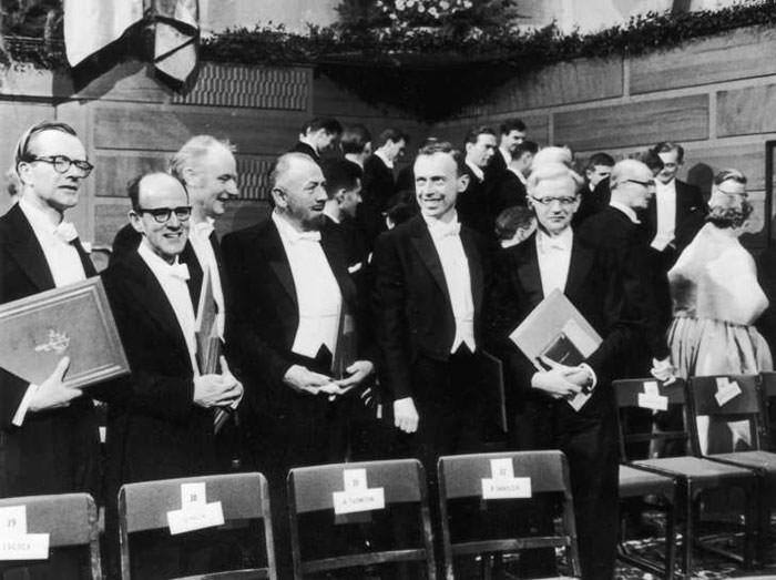 جایزه نوبل واتسون کریک ویلکینز