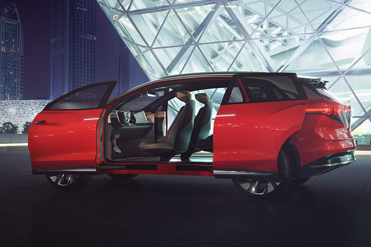 Volkswagen I.D. Roomzz / شاسی بلند فولکس واگن آی.دی رومز