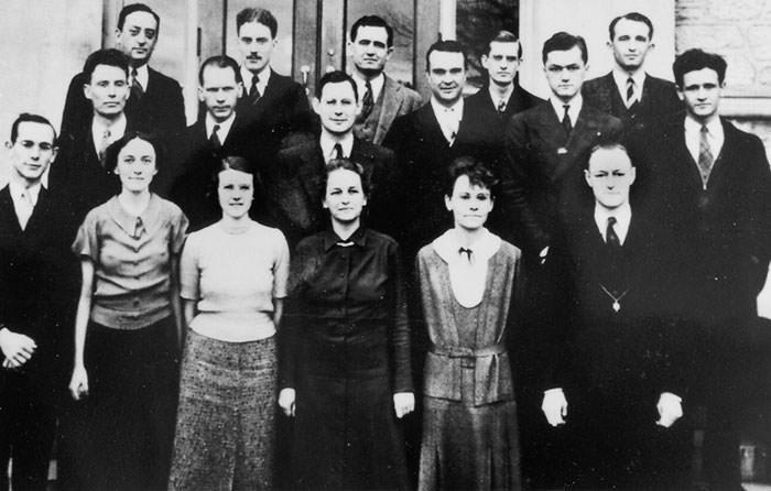 عکس یادگاری کنگرهی بینالمللی گیاهشناسی ایتکا نیویورک (۱۹۲۶)