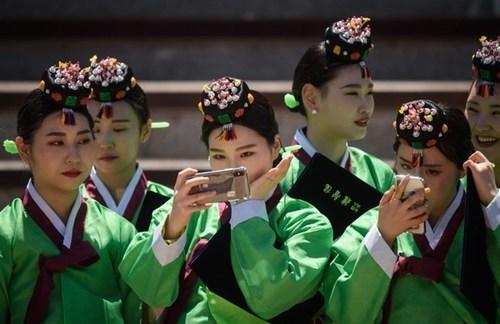مراسم جشن تکلیف دختران کره ای