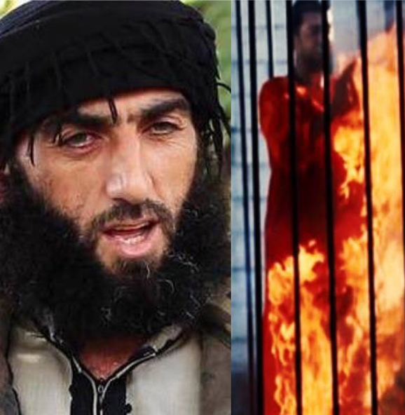 سرانجام داعشی که خلبان اردنی مشهور را زنده در قفس سوزاند + تصاویر