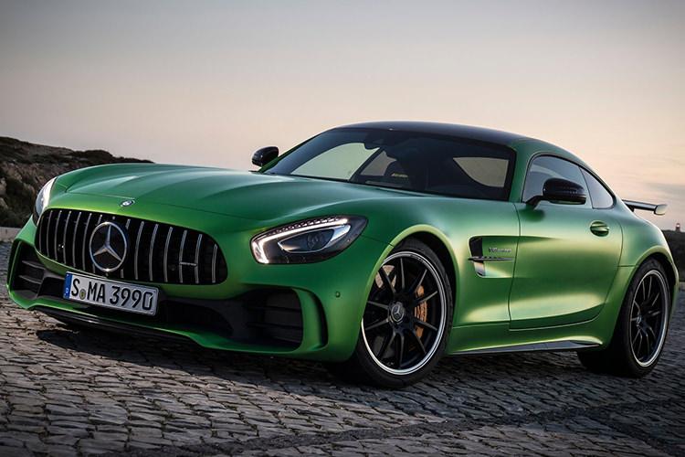 Mercedes AMG GT R / مرسدس بنز
