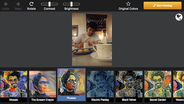 ۵ اپلیکیشن برای تبدیل عکس به اثر هنری +تصاویر
