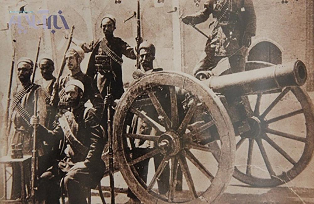به توپ بستن مجلس شورای ملی به فرمان محمدعلی شاه قاجار (۱۲۸۷ ش)