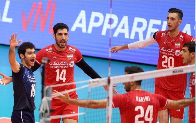 لیگ ملتهای والیبال/ پیروزی سه بر صفر ایران مقابل بلغارستان
