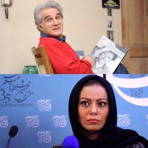 مهدی هاشمی و مهرنوش صادقی همسر دومش