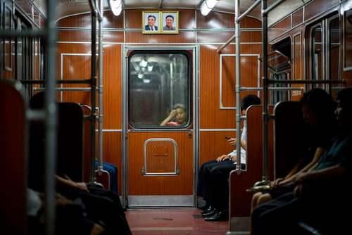 مترو شهر پیونگ یانگ کره شمالی/ خبرگزاری فرانسه