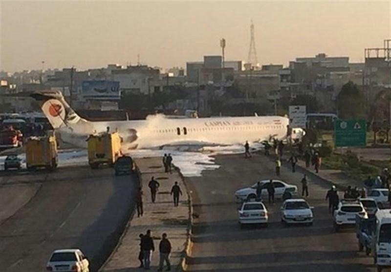 خلبان پرواز تهران – ماهشهر از کار تعلیق شد