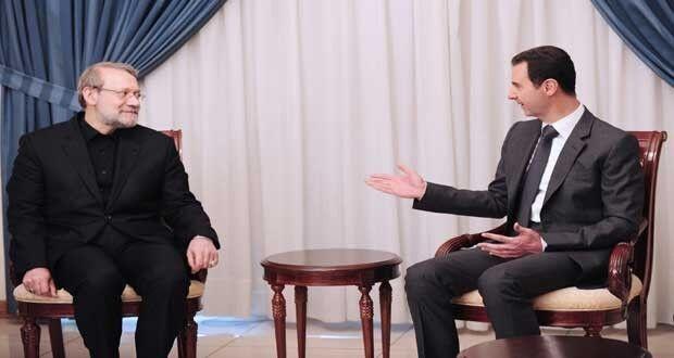 اهداف سفر لاریجانی به سوریه