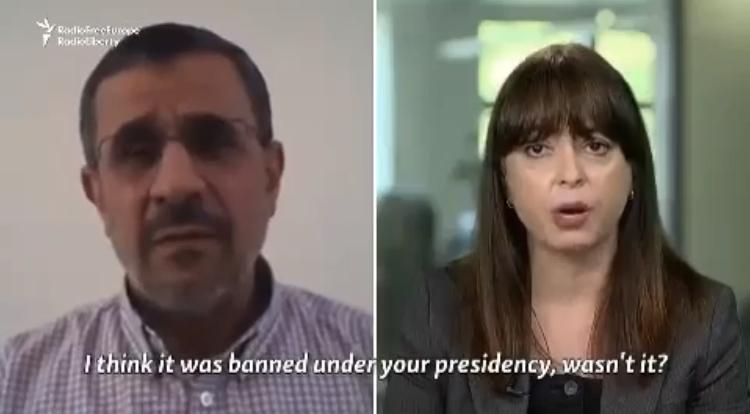 احمدینژاد: از کارها و حرفهایم پشیمان نیستم /فیلم