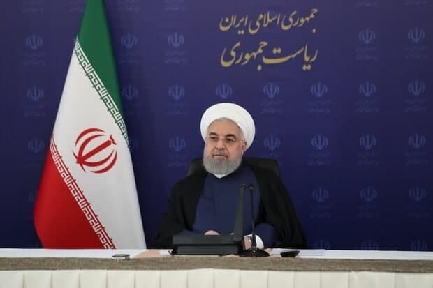 روحانی: رسما اعلام میکنم تحریمها شکسته شده