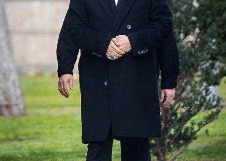 عکسی از اسحاق جهانگیری که سوژه شد